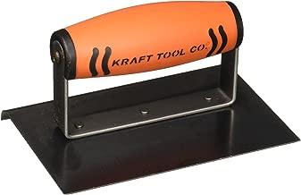 Kraft Tool CF573PF 3/8-Inch Radius Blue Steel Hand Edger with ProForm Handle, 6 x 4-Inch