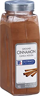 McCormick Culinary Ground Cinnamon, 18 oz - One 18 Ounce Container of Pure Ground Cinnamon Powder Perfect for Professional...