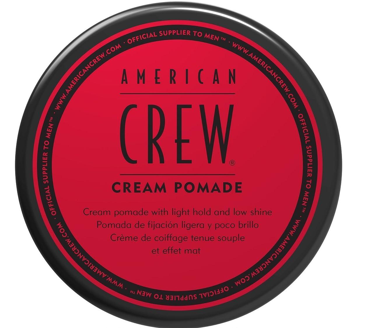 ブロー波紋監査AMERICAN CREW アメリカンクルークリームポマード、3オンス 3オンス