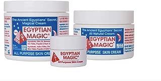 Egyptian Magic All Purpose Skin Cream Bundle - 3 items: 4 oz Jar + 1 oz Jar + .25 oz Jar