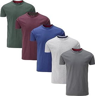 comprar comparacion Charles Wilson Paquete 5 Camisetas Cuello Redondo Lisas