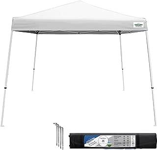 Caravan Canopy V-Series 2 Slant Leg 10 X 10 Foot Canopy Kit, White