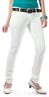 Dragaon Women's Cotton Lycra Skinny Fit Jeans