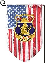 ULNL 3rd Battalion 15th Infantry Regiment Graden Flag Yard Flag for Home Outdoor Decor 12x18 in Double Sided Fillet