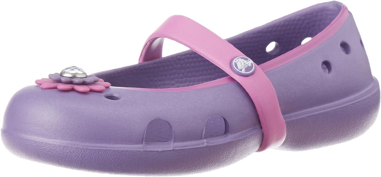 Cheap sale Crocs Girls' Keeley Petal Max 87% OFF PS Charm Flat