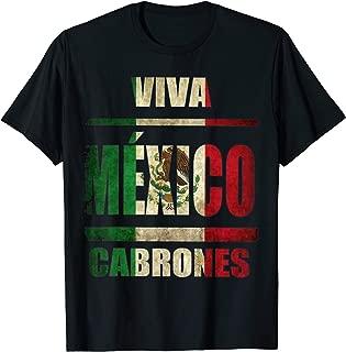 VIva Mexico Cabrones and christmas mexico Tshirt T-Shirt