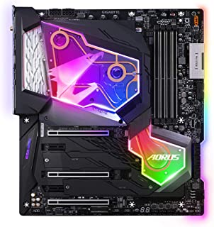 Gigabyte Technology Z390 AORUS Xtreme Waterforce5G Carte Mere Z390/LGA1151/4D4/ATX/CF9
