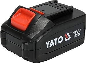 بطارية ياتو ليثيوم أيون 18 فولت 4.0 أمبير مع مؤشر الطاقة العلامة التجارية Yato YT-82844
