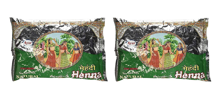 Spare Ayur Herbal Rajasthani specialty shop Henna Outlet SALE Brown Powder P Dark Mehndi