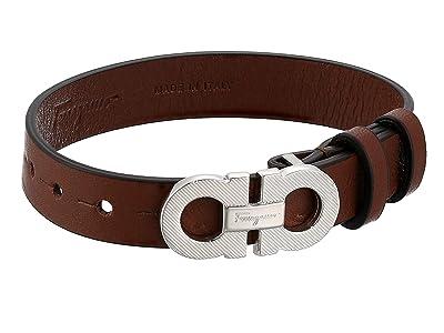 Salvatore Ferragamo Textured Bracelet 770204 (Brown) Bracelet