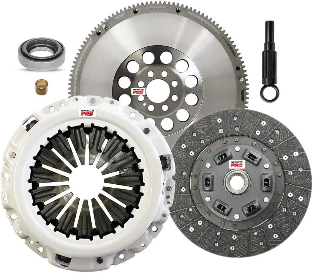 Ranking TOP5 ClutchMaxPRO Heavy Duty OEM Clutch Beauty products Kit Flywheel Chromoly with Co