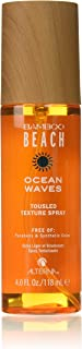 Alterna Bamboo Beach Ocean Waves Tousled Texture Spray for Unisex, 4 Ounce