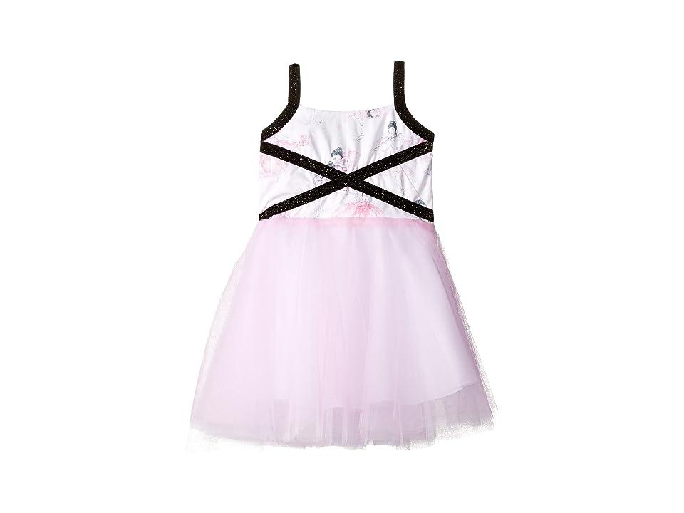 fiveloaves twofish Degas Dancers Dress (Little Kids/Big Kids) (Pink) Girl