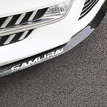 YIEKO Front Bumper Lip Universal Auto Parts Car carbon Fiber Lip Side Skirt Spoiler Anti Scratch Protector Body Kit Trim W...