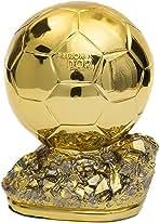 Golden Ballon Football Trophy Champion Trophy Golden Ball Soccer Trophy Best Player Awards