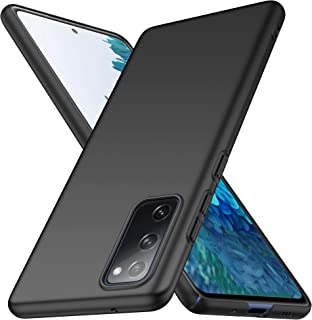 Wuzixi Case for Samsung Galaxy S20 FE 5G. Resilient Shock Absorption and Ultra Thin Design Cover, Rubberized Hard PC Back ...