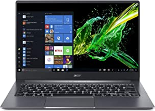 Acer Swift 3, 14 Full HD IPS, 10th Gen Intel Core i5-1035G1, 8GB LPDDR4, 256GB PCIe Nvme SSD, Intel Wireless Wi-Fi 6 AX201 802.11Ax, Back-Lit Keyboard, Windows 10, SF314-57-59EY