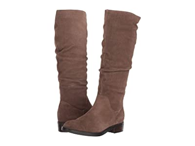 Blondo Erika Waterproof (Dark Taupe Suede) Women