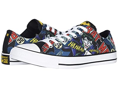Converse Chuck Taylor All Star Ox Batman (White/Black Multi) Skate Shoes