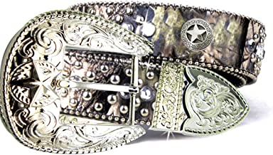 conchos and buckle sets