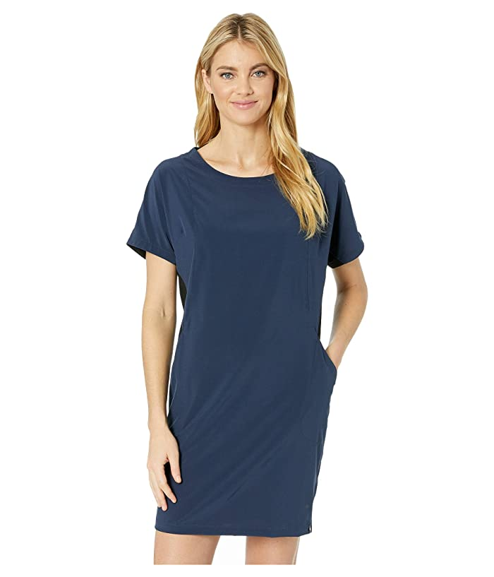 Smartwool Merino Sport Short Sleeve Dress (Deep Navy) Women