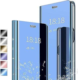 Lustrzane etui na telefon komórkowy Galaxy S20 Ultra Slim Fiting Mirror Case z podpórką etui ochronne zapobiegające zaryso...