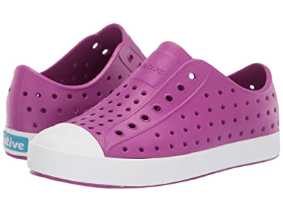 Native Kids Shoes Jefferson (Little Kid) (Origami Purple/Shell White) Girls Shoes