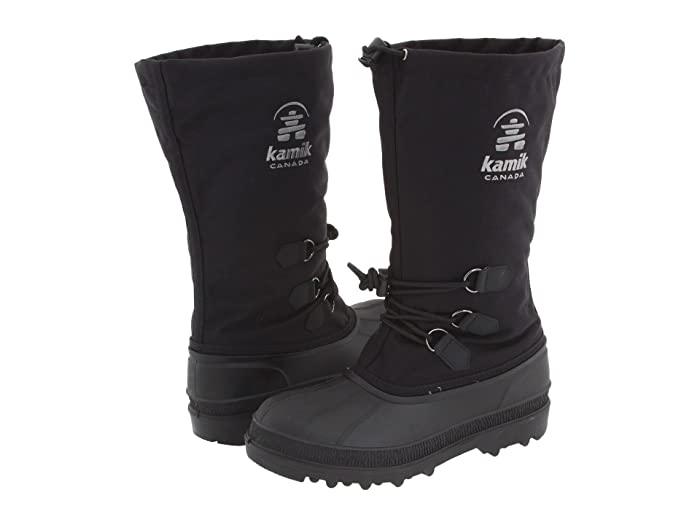 Kamik  Canuck (Black) Mens Cold Weather Boots