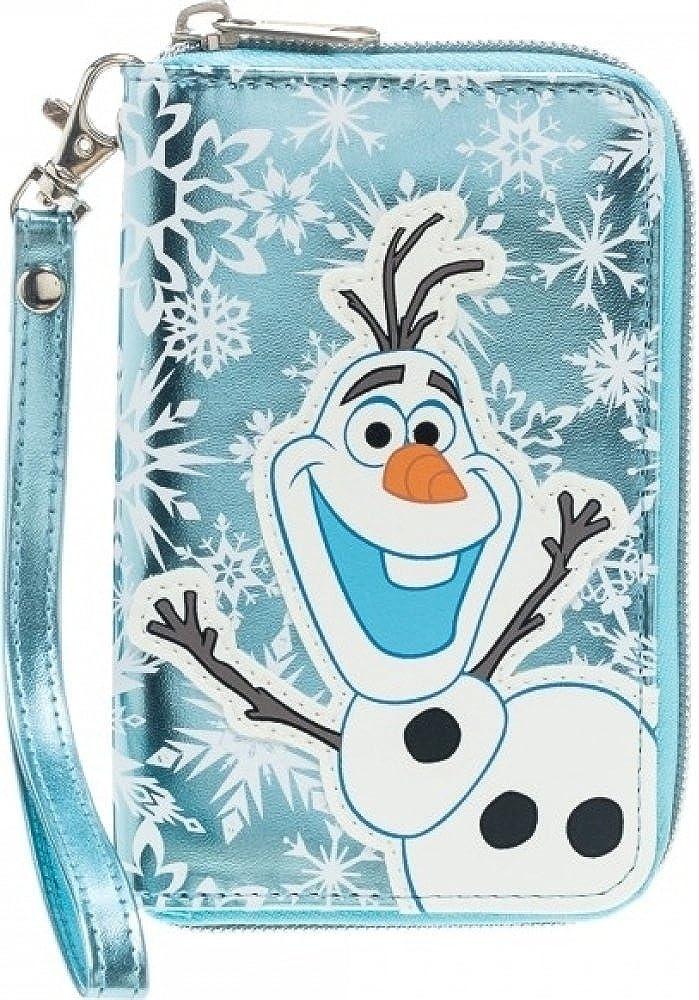 Disney Frozen Womens' Olaf Small Zip Wallet