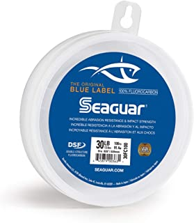 Seaguar Blue Label 100-Yards Fluorocarbon Leader 30-Pounds