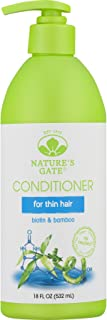 Nature's Gate Biotin Strengthening Conditioner for Weak, Fragile and Thinning Hair, 18 Ounce (Pack of 3)