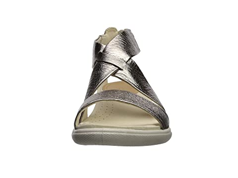 ECCO Damara Casual Sandal Warm Grey Metallic Cow Leather Excellent Cheap Price Outlet Affordable Cheap Sale Pick A Best Free Shipping For Cheap dWkiJ6DUc0