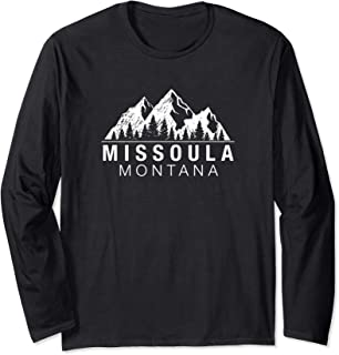 Montana Gift - Missoula Long Sleeve T-Shirt