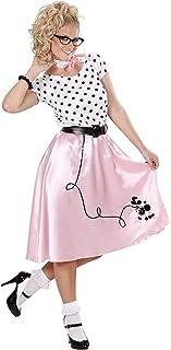 WIDMANN All4Yourparty - Disfraz de Grease para mujer, talla