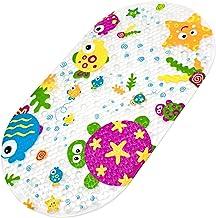 Bligli Bathtub Mat Baby Bath Mat Anti-Slip Mat Cartoon Non-Slip Bath Mat Massage Shower Mat with Suction Cups Children 39 ...