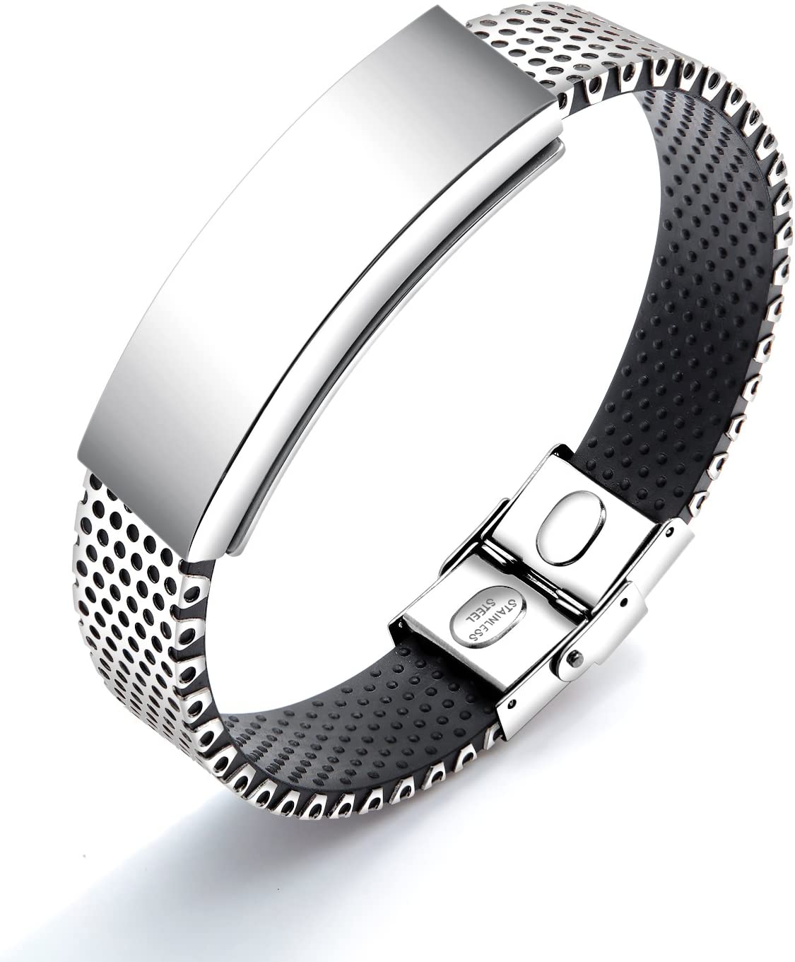 Watch-Band Design Magnetic Therapy Bracelet Stainless 316L Indianapolis Mall Steel Popular brand in the world