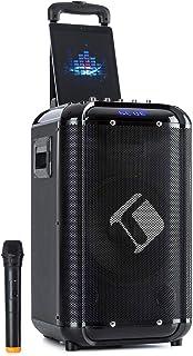 "AUNA Moving 100 - système de sonorisation Mobile 10"" / karaoké, Technologie Basse XMR : woofer 10"" (25,4 cm) / Tweeter 3""..."