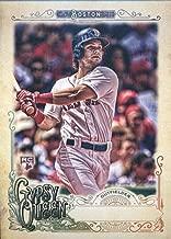 2017 Topps Gypsy Queen Missing Nameplate #282 Andrew Benintendi Boston Red Sox Baseball Card