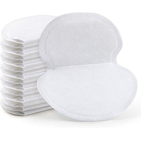 Underarm Sweat Pads - OTTOLIVES PREMIUM QUALITY Fight Hyperhidrosis [100 Pack] for Men and Women Comfortable, Non Visible, Extra Adhesive, Disposable Dress Guards/Shields, Non Sweat Armpit Protection