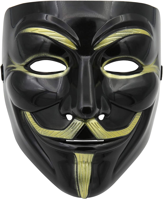 A9TEN Black Hacker Mask for Direct stock discount V Anonymous Kids Vendetta Sacramento Mall