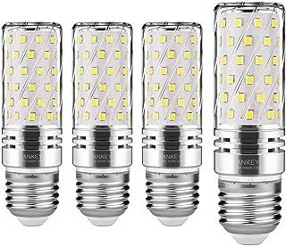 E27 Bombilla de Maíz LED 15W, 6000K Blanco Frío, 1500Lm,120W Incandescente Bombillas Equivalentes, Edison Tornillo Bombillas LED,4-Pack (E27 Bianca Freddo)