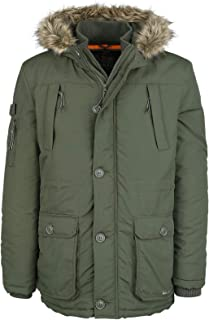 Crosshatch Killblake Winter Jacket Dark Blue