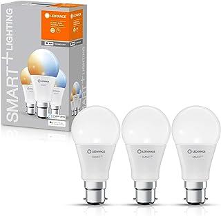 LEDVANCE Lampe LED intelligente avec technologie WiFi, base B22d, dimmable, couleur de la lumière variable (2700-6500K), r...