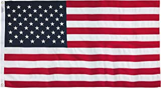 America's Flag Company 58311000II-R American Flag, 5'X8', Red, White, Blue