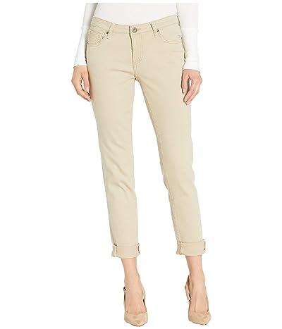 Jag Jeans Carter Girlfriend Jeans in Elite Colored Denim (Khaki) Women