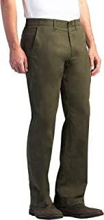Lee mens Performance Series Extreme Comfort Khaki Pant Straight Fit Pant