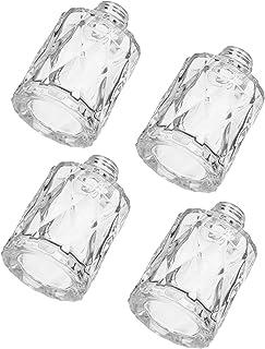 MILISTEN 4Pcs di Vetro Bottiglie Diffusore di Ricambio Diffusori Reed Bastoni Supporto di Oli Essenziali di Ricambio Diffu...