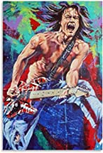 Guitar Master Eddie Van Halen-6 Canvas Art Poster and Wall Art Picture Print Modern Family Bedroom Decor Posters 24x36inch(60x90cm)