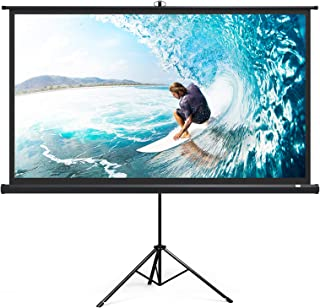 "TaoTronics TaoTronics Projector Screen with Stand, TT-HP020 Indoor Outdoor Movie Projection Screen 4K HD 120"" 4:3 with Wri..."
