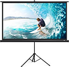Amazon Com Projector Screen With Stand 120 Inch